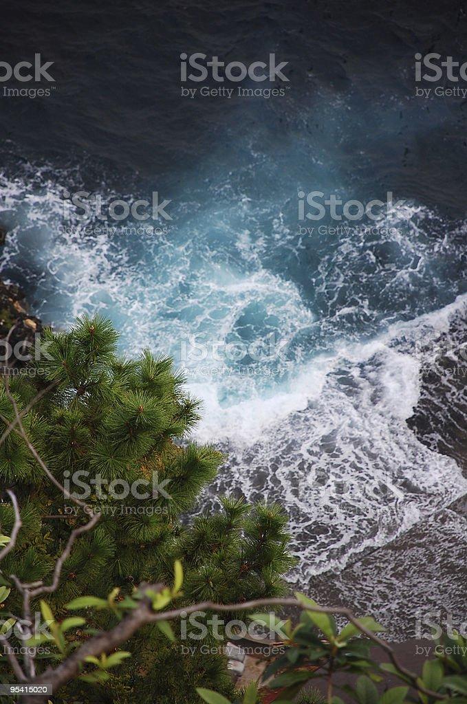 Gezeiten und Wellen Lizenzfreies stock-foto