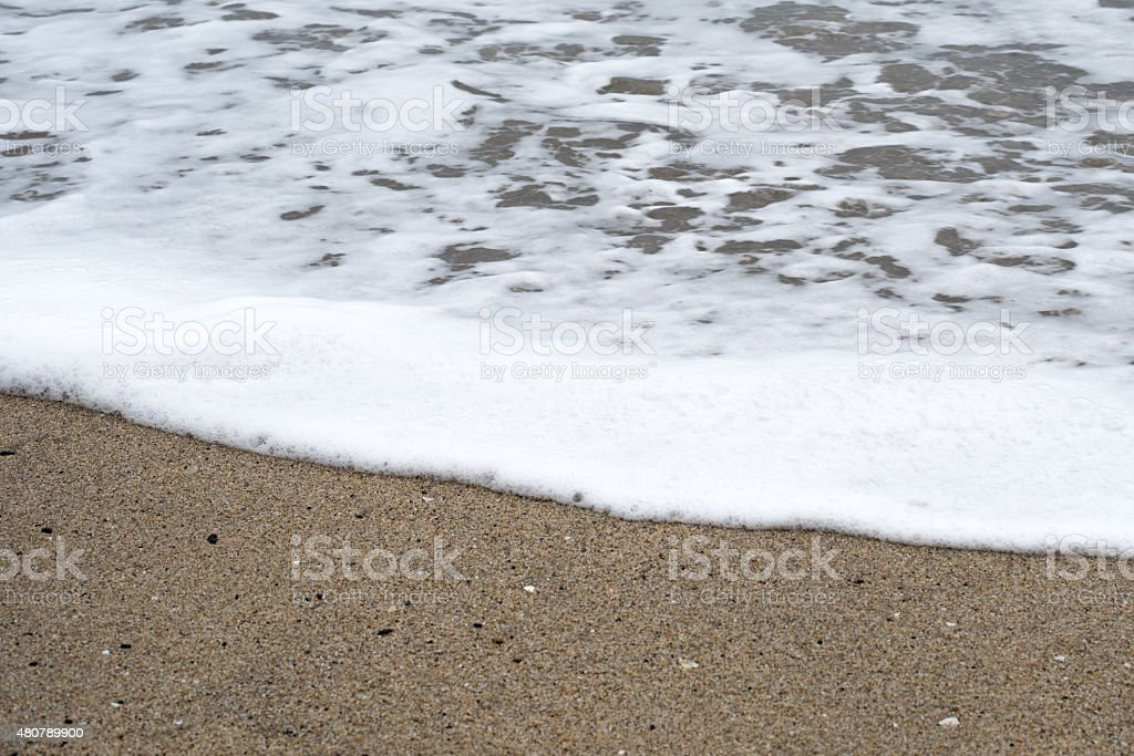 Tide Coming In stock photo