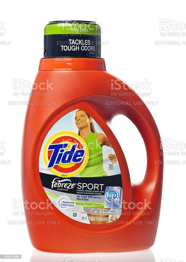 Tide Laundry Detergent stock photo