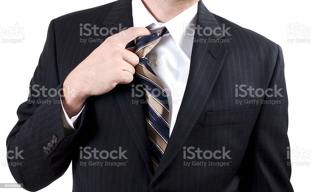 Регулировка с завязками Стоковые фото Стоковая фотография