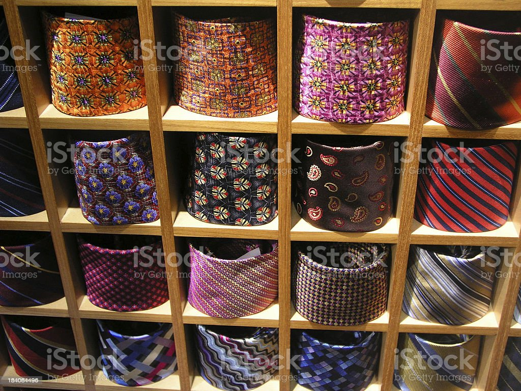 Tie Box royalty-free stock photo