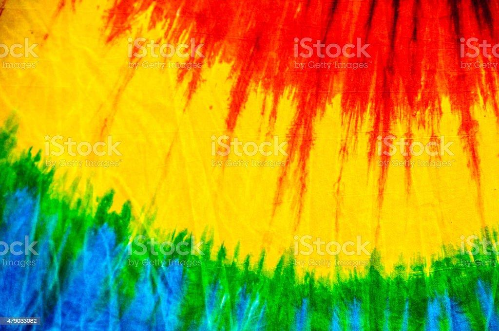 Tie Dye Abstract stock photo