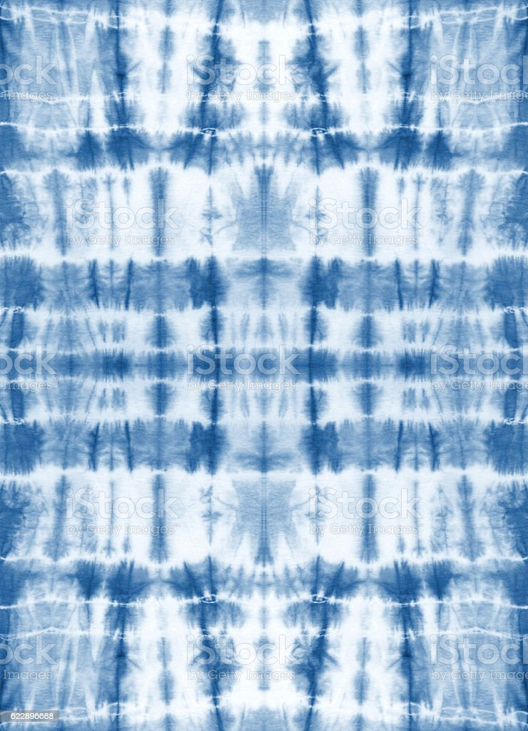 Tie dyed fabric. Seamless repeating pattern. Abstract background.
