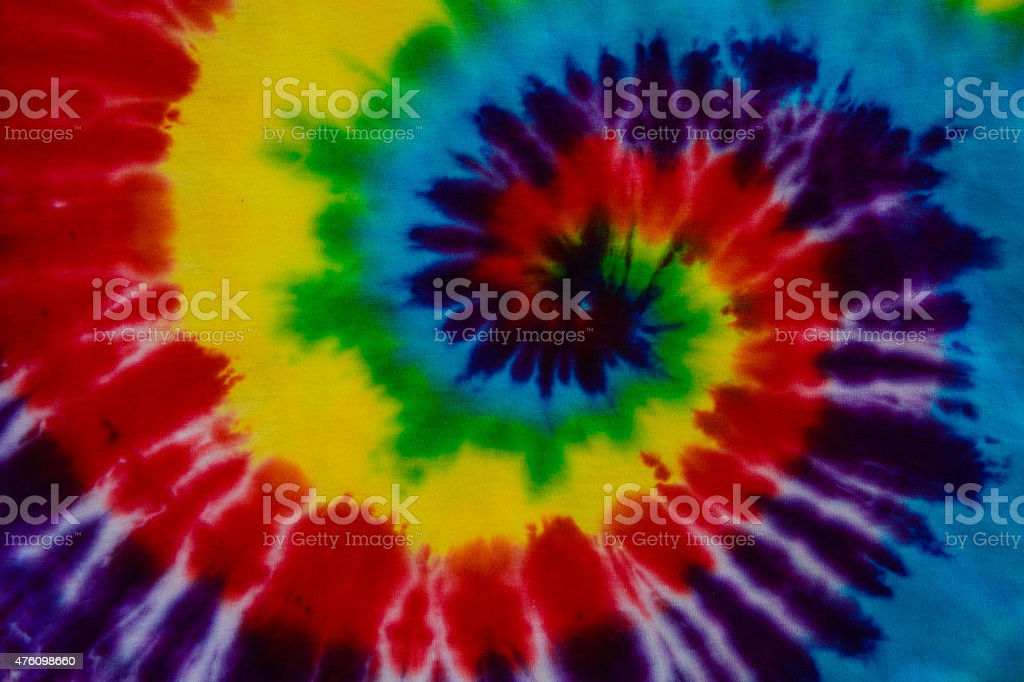 tie dye fabric background stock photo