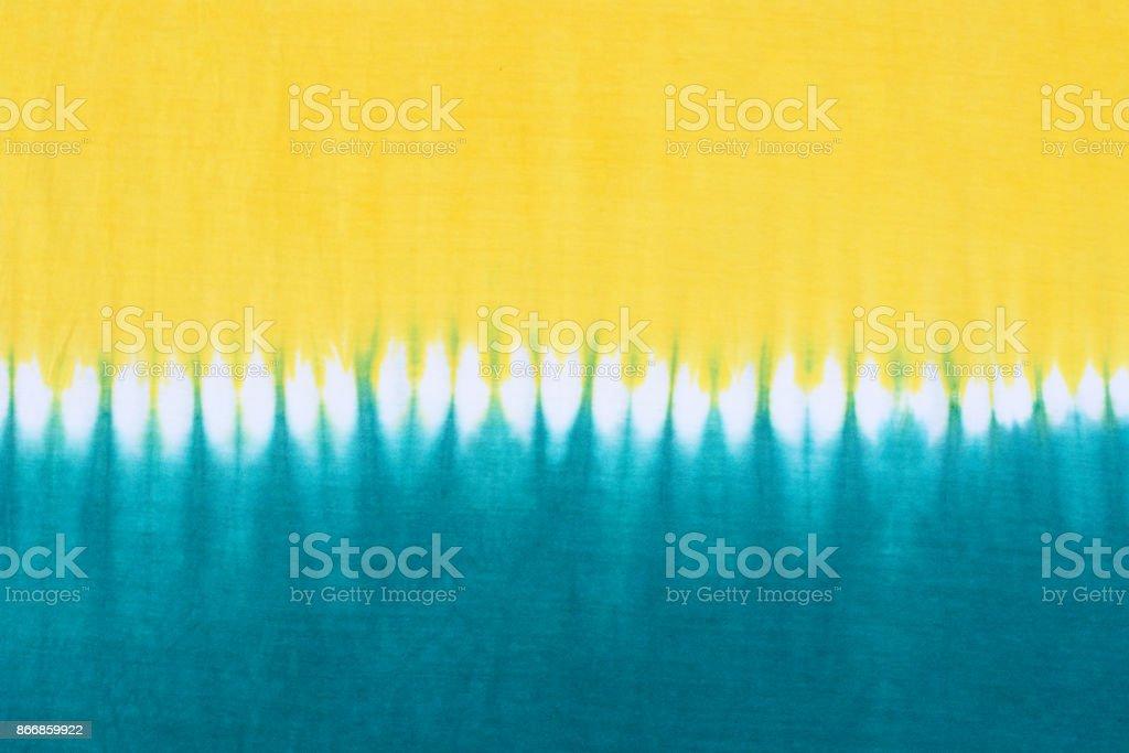 tie dye pattern fabric background stock photo