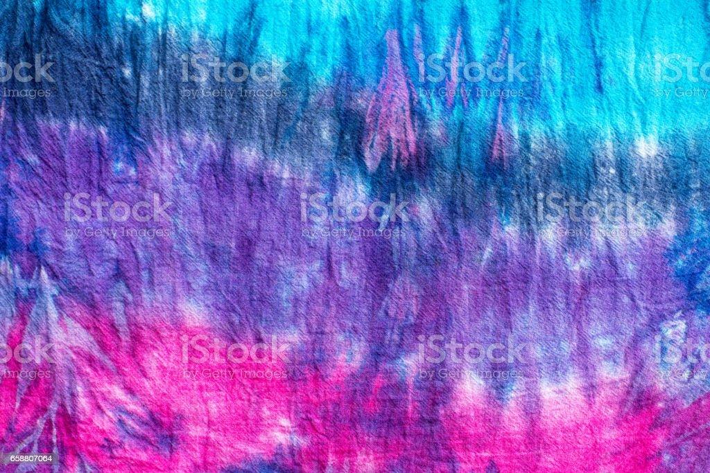 tie dye pattern stock photo