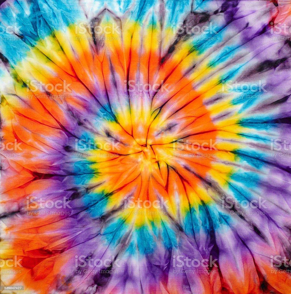 tie dye stock photo