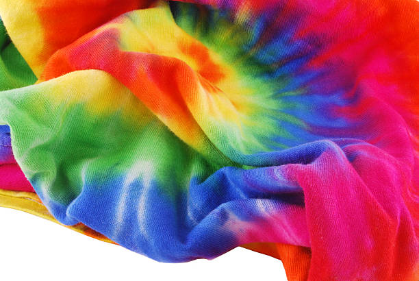 Tie Dye Shirt  1960 1969 stock pictures, royalty-free photos & images