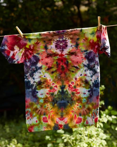 Tie Dye Shirt stock photo