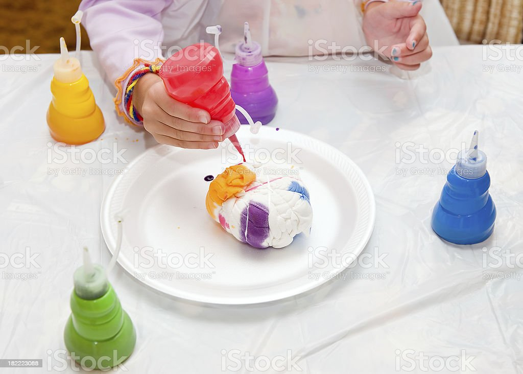 Tie Dye Shirts stock photo