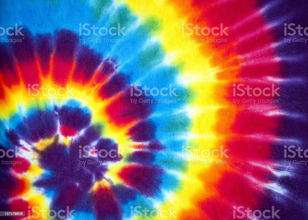 Tie Dye Swirl Background Pattern or Texture royalty-free stock photo