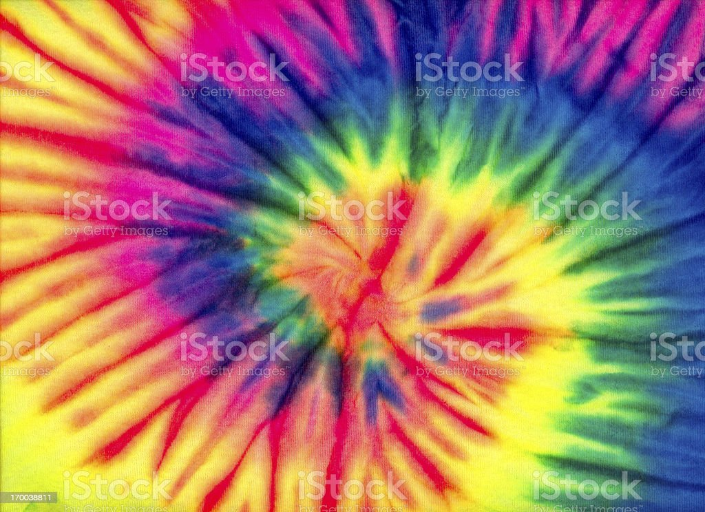 Tie Dye Swirl Background Pattern or Texture stock photo