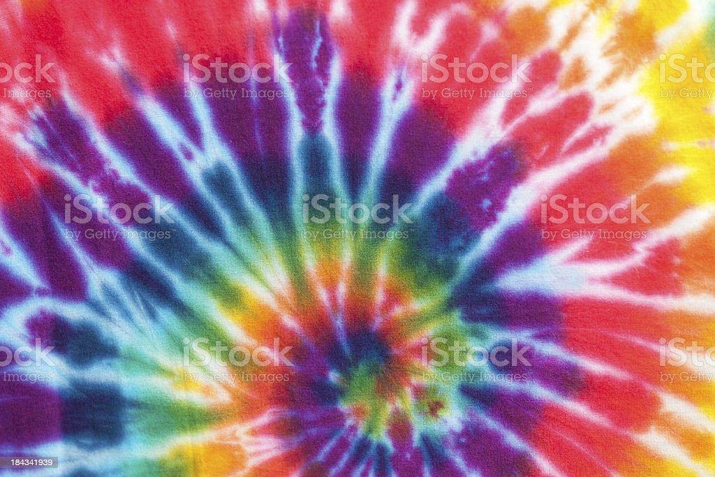 Tie Dyed stock photo
