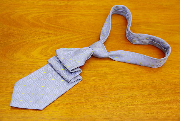 Tie. Father's Card Series. stock photo