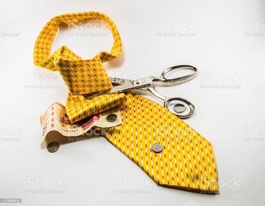 Tie of freedom stock photo