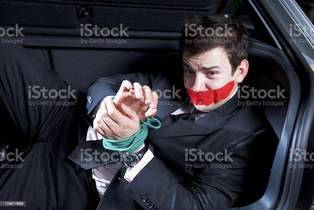 Gebunden Geschäftsmann – Foto