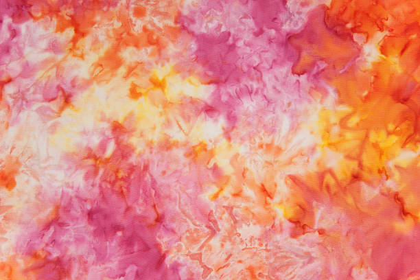 Tie-Dye Abstract Background stock photo