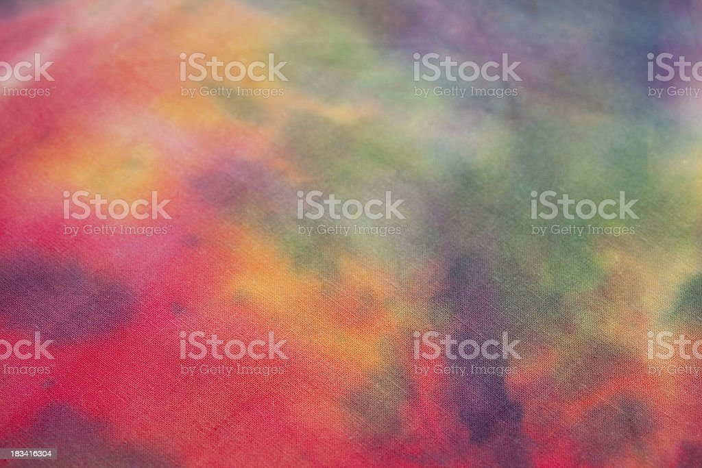 Tie-Dye Close-up royalty-free stock photo