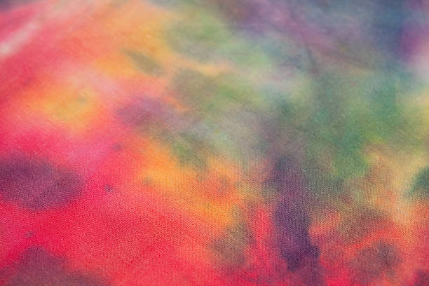 Tie-Dye Close-up stock photo
