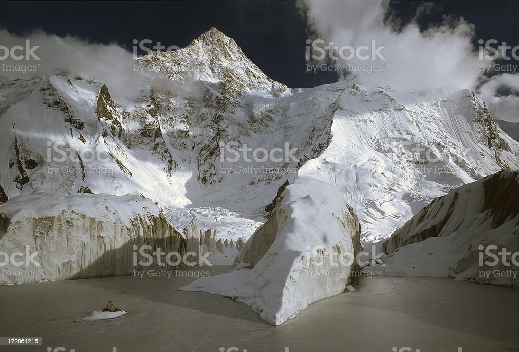 Tien Shan Mountains royalty-free stock photo