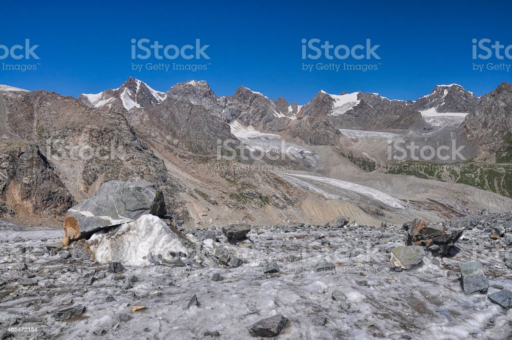 Tien-Shan in Kyrgyzstan stock photo