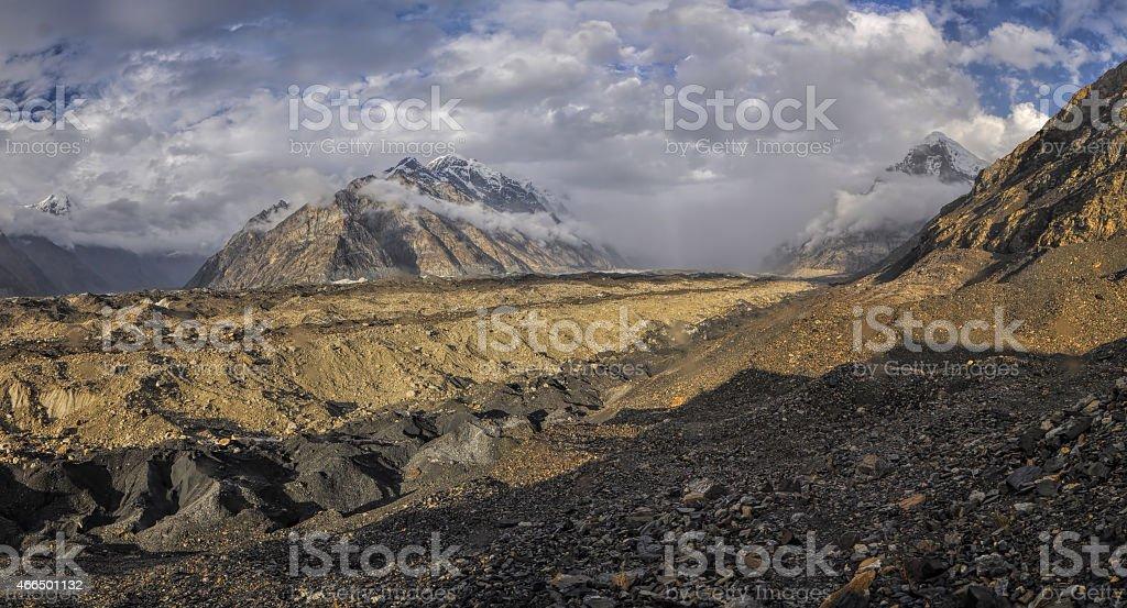 Tien-Shan in Kyrgyzstan stock photo