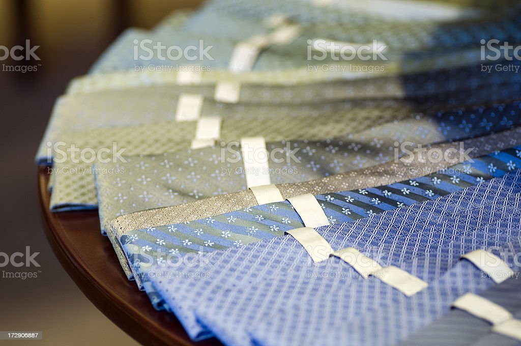 Ties for Sale royalty-free stock photo