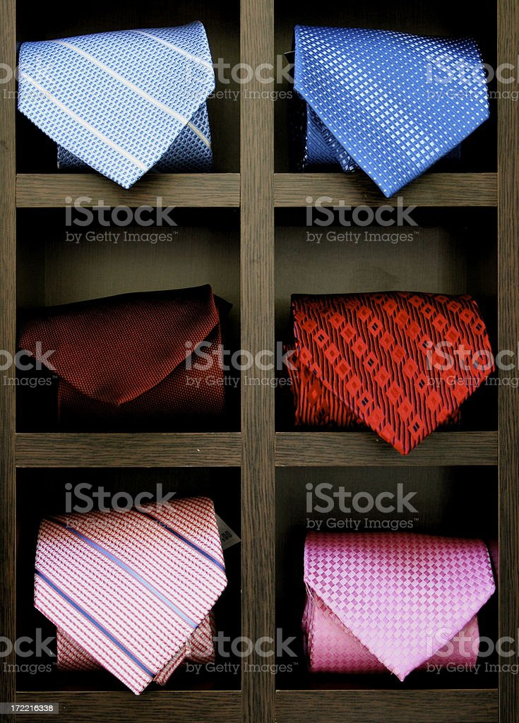 ties royalty-free stock photo