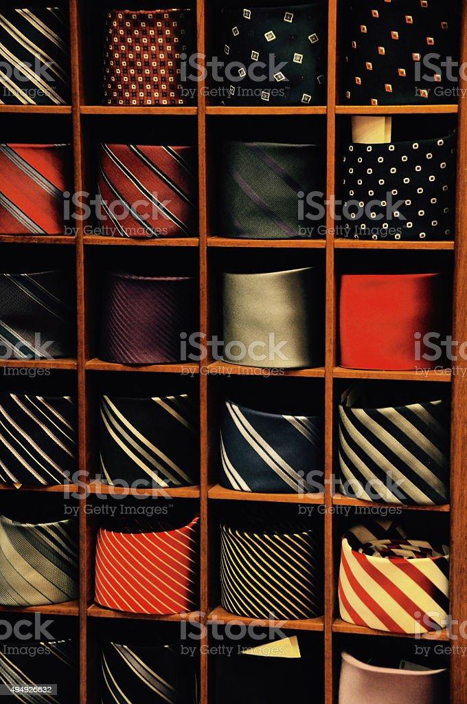 Ties stock photo