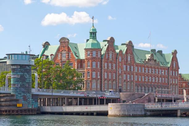 Tietgen's House in Copenhagen stock photo