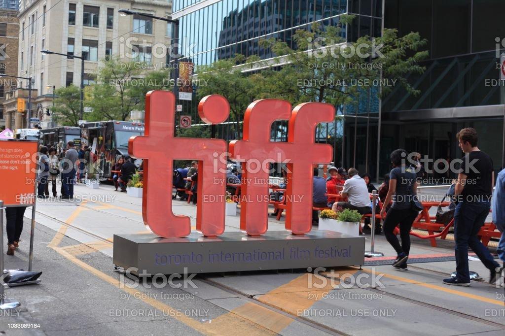 Tiff sign - Royalty-free 2018 Stock Photo
