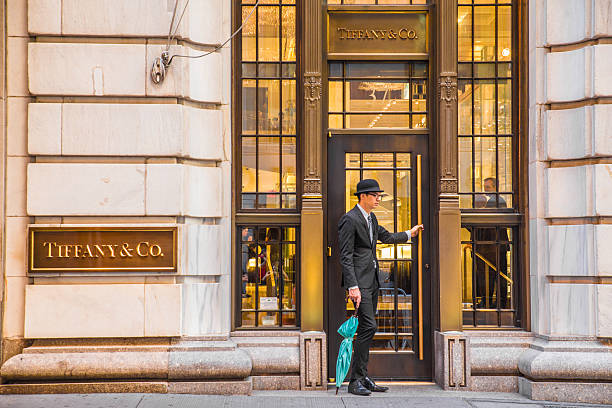 Tiffany & Co. NYC stock photo