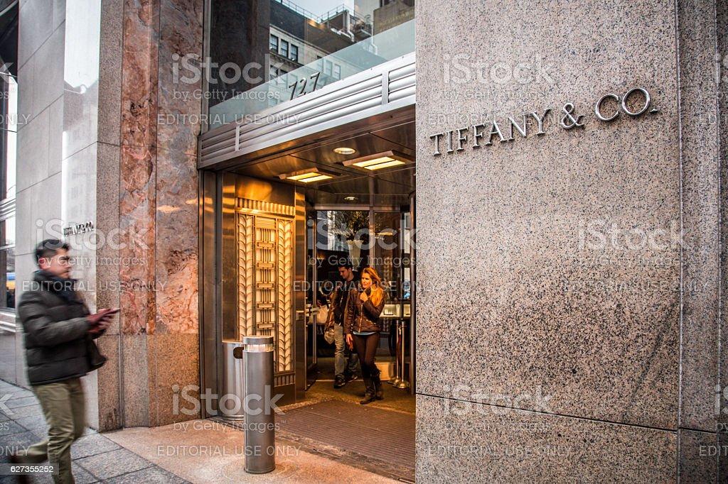 Tiffany & Co. NYC stock photo