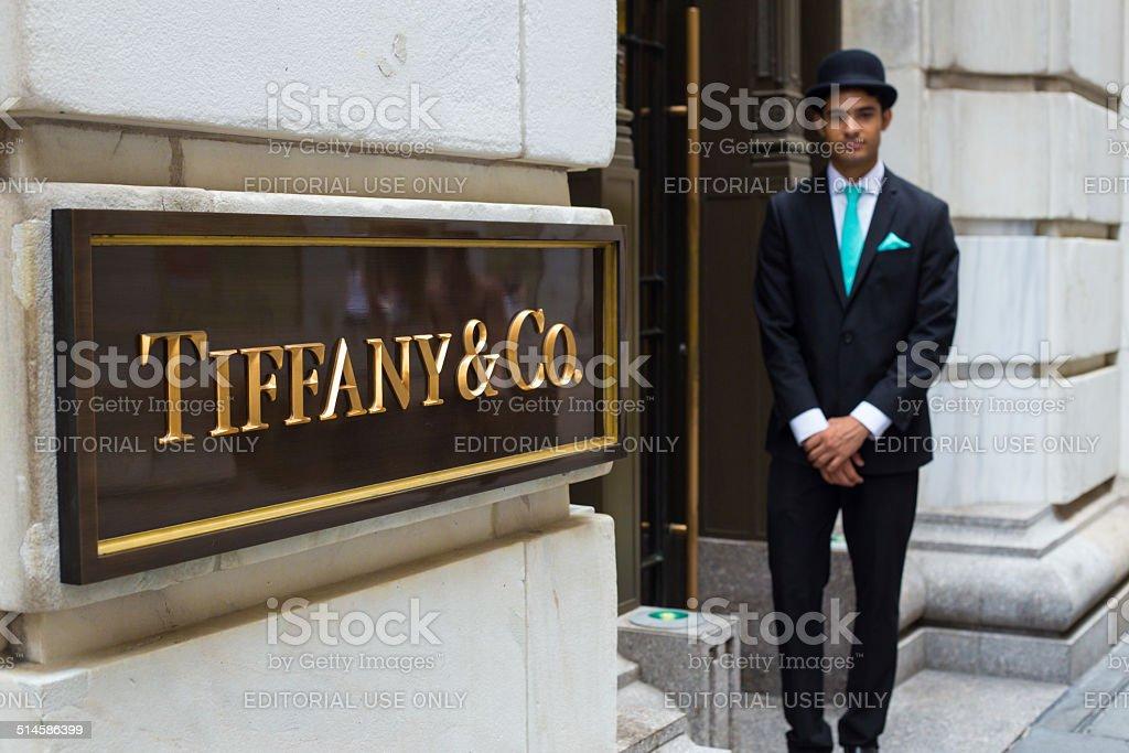 Tiffanys New York City stock photo