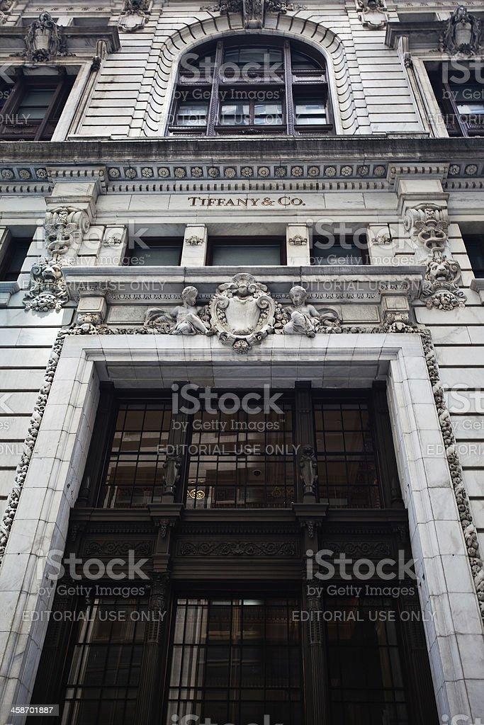Tiffany's New York stock photo