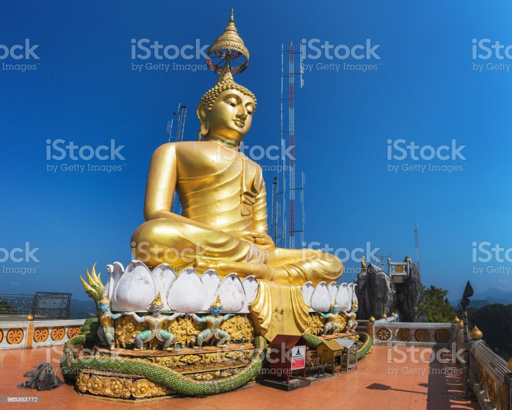 Tiger Cave Temple (Wat Tham Suea), Krabi Province, Thailand royalty-free stock photo