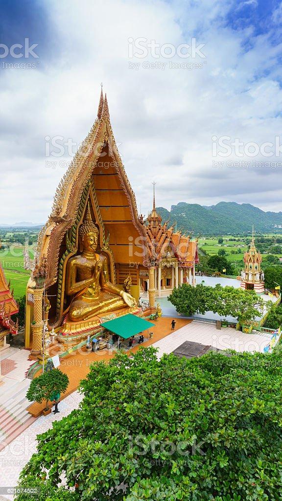Tiger Cave Temple or Wat Tham Sua photo libre de droits