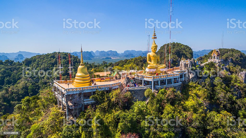 tiger cave temple stock photo