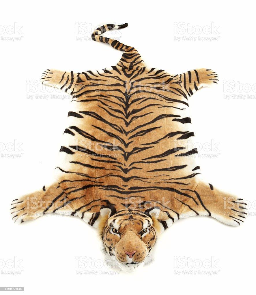 Tiger fur #2 stock photo