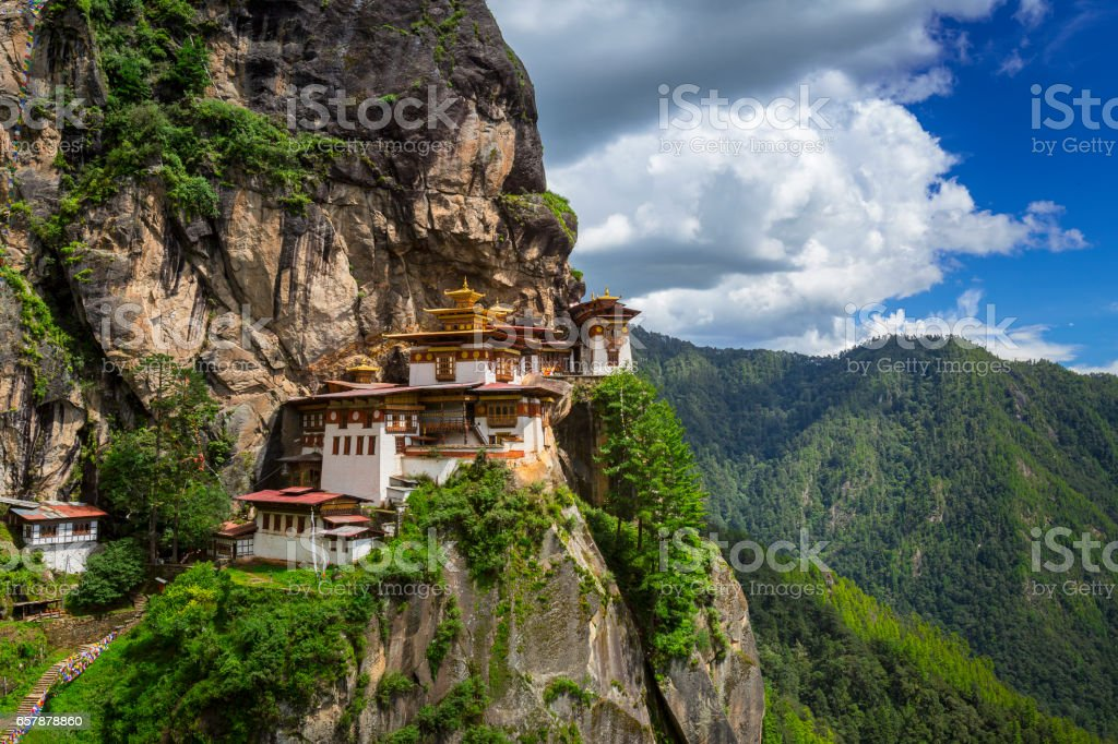 Tiger nest stock photo