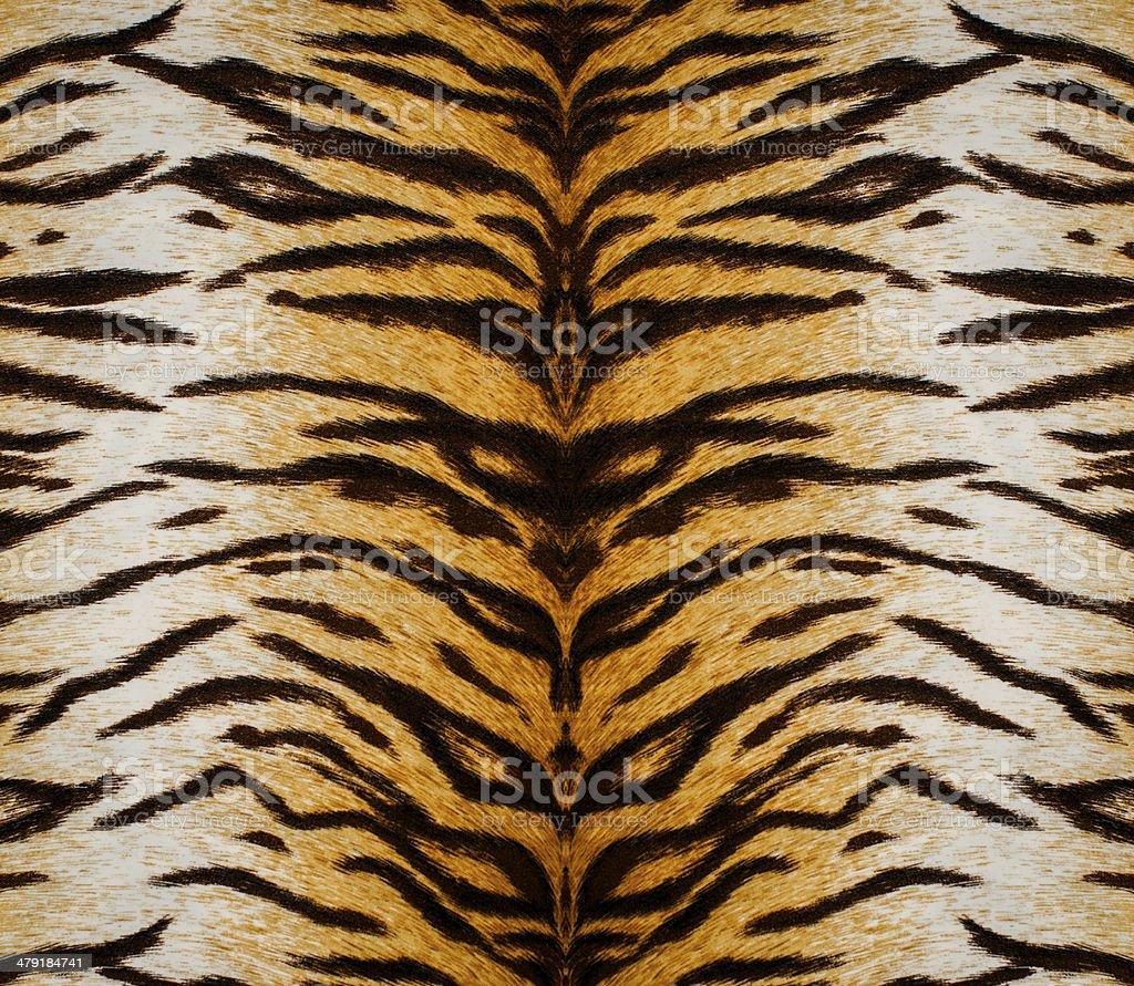 Tiger skin texture stock photo
