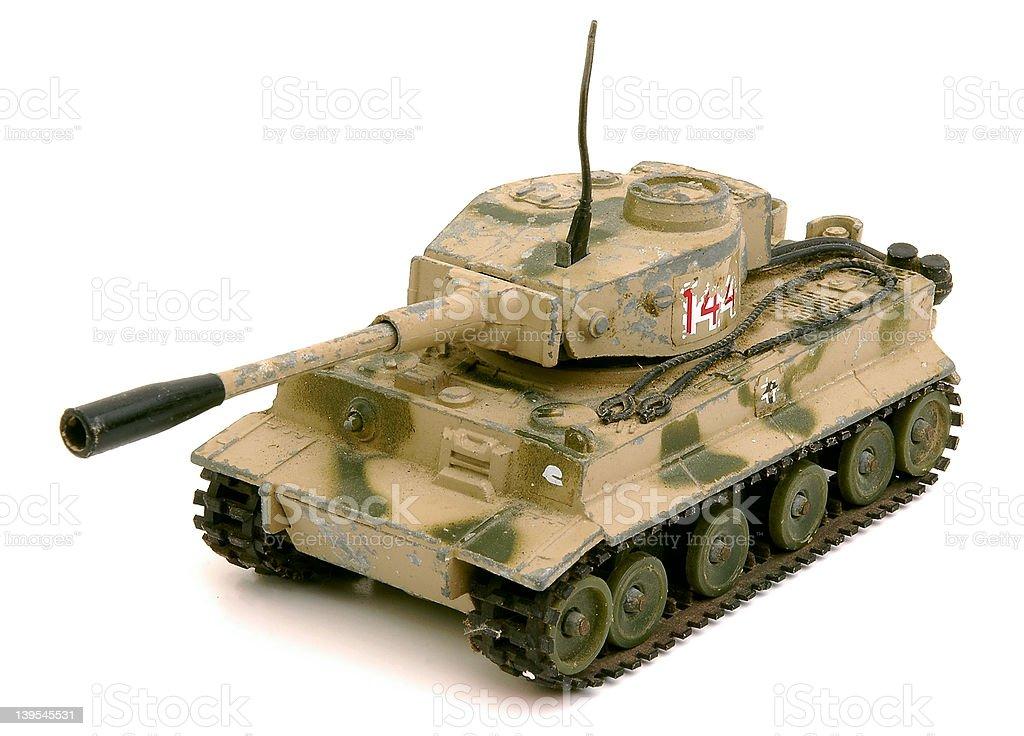 Tiger Tank stock photo