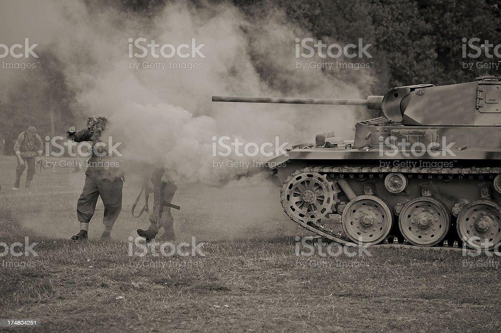 Tiger Tank. royalty-free stock photo