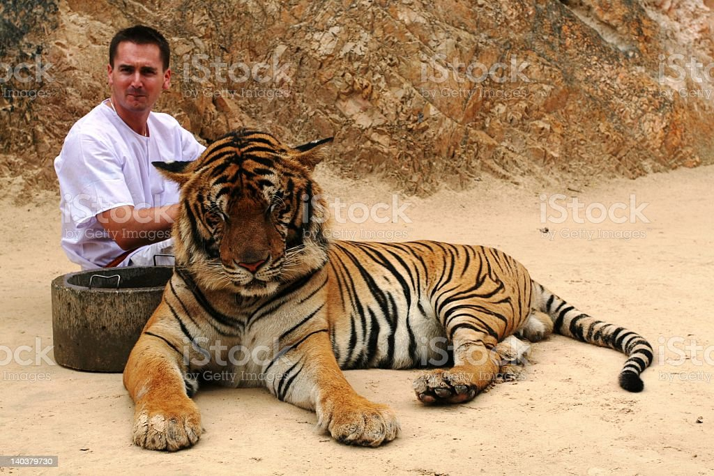 Tiger Temple stock photo