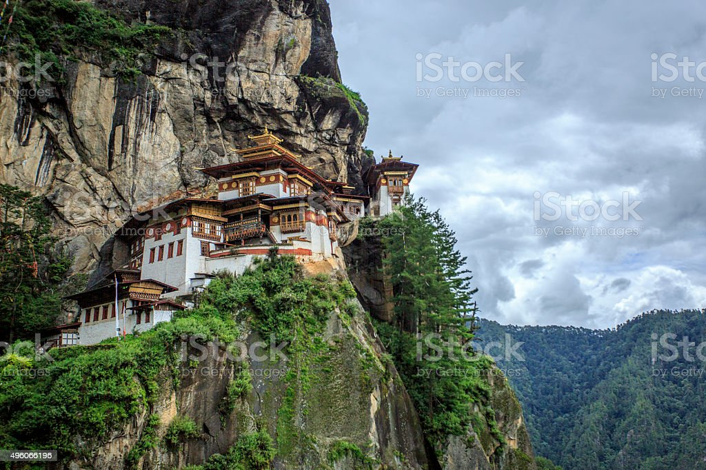 Tiger's Nest Temple, Bhutan stock photo