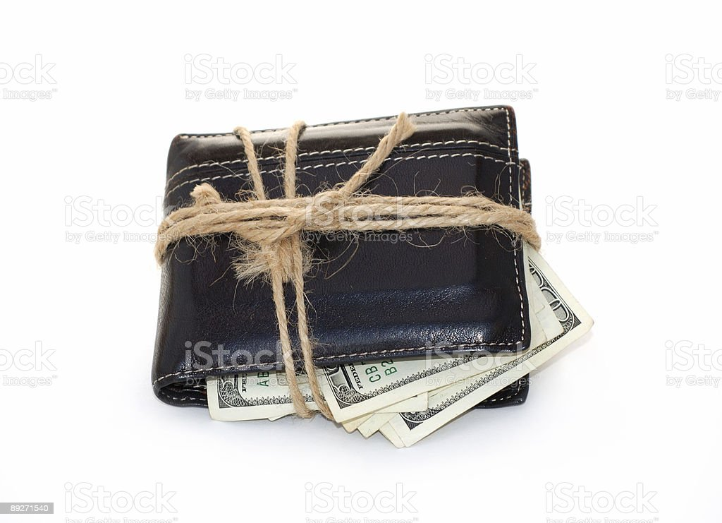 Tight budget royalty-free stock photo