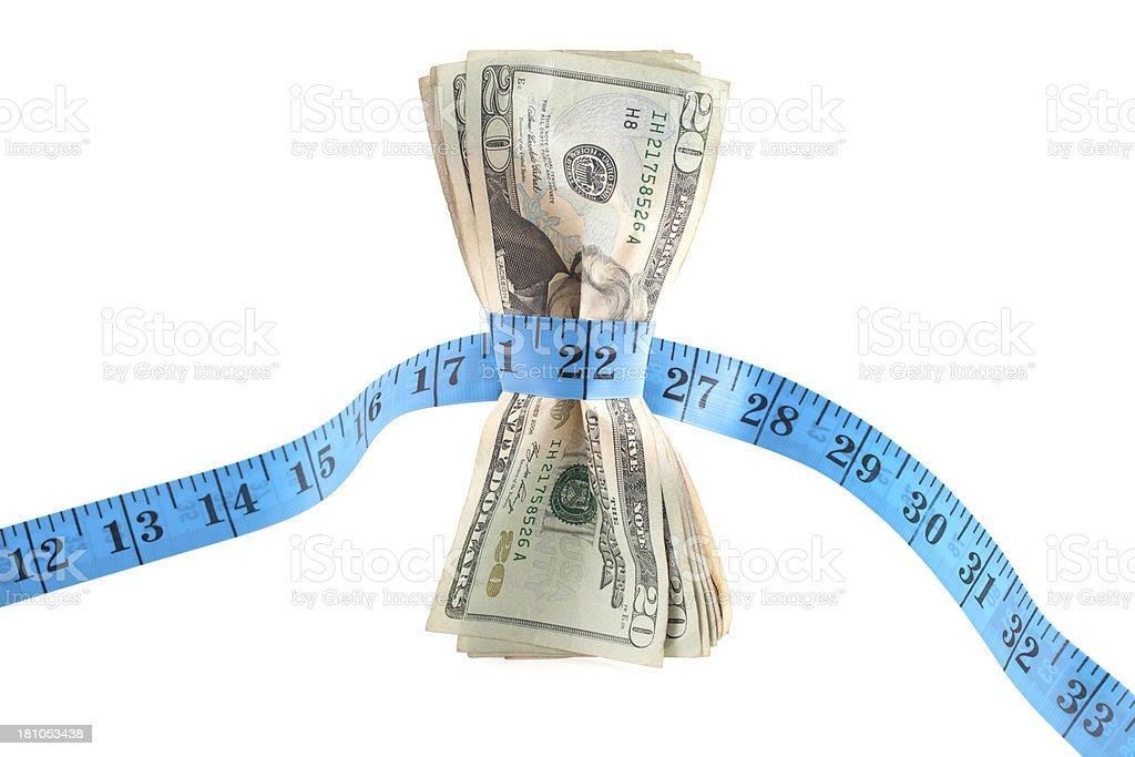 Tight Budgeting royalty-free stock photo