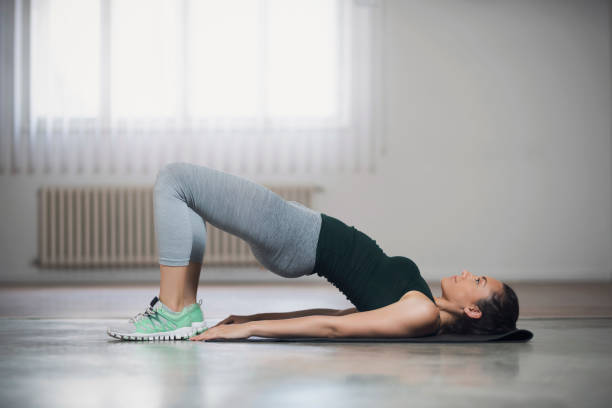 Tight Curves Workout stock photo