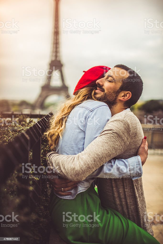 tight hug kiss
