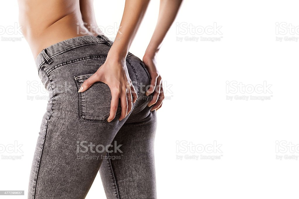 Tight Jeans Stock Photo